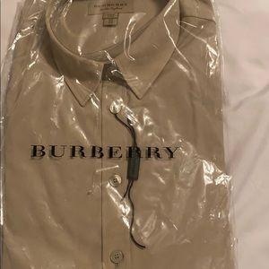 Long sleeve Burberry dress shirt, brand new